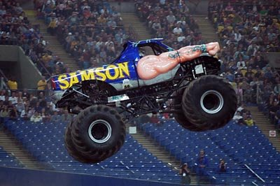 Samson Monster Truck 2005 Photos