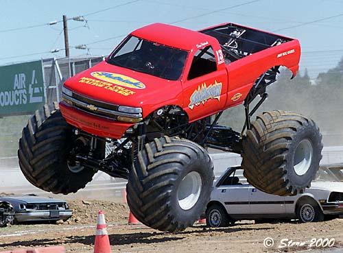Dan Patrick Com Samson Monster Truck Racing