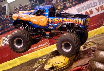 Samson Monster Truck Photos 2012