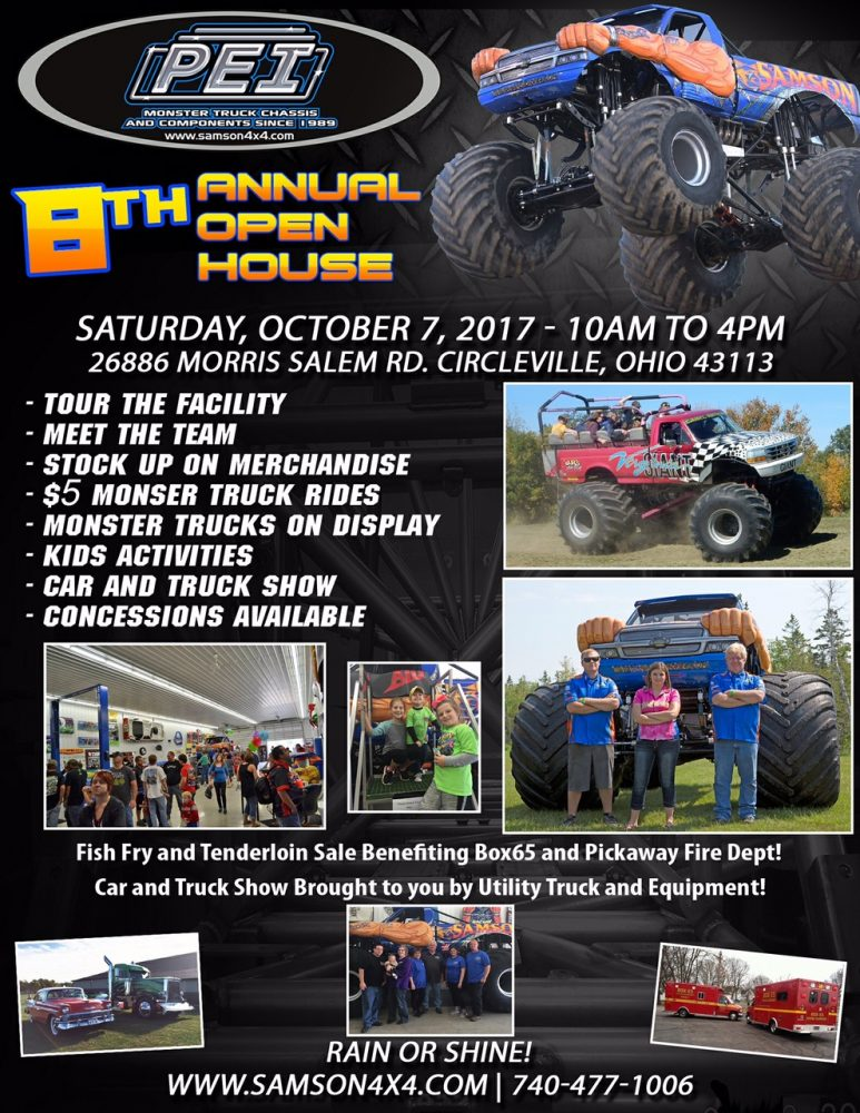 8th Annual PEI / Samson Open House