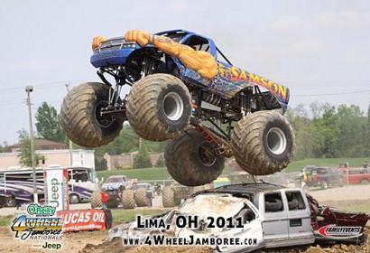 Samson Monster Truck Photos 2011