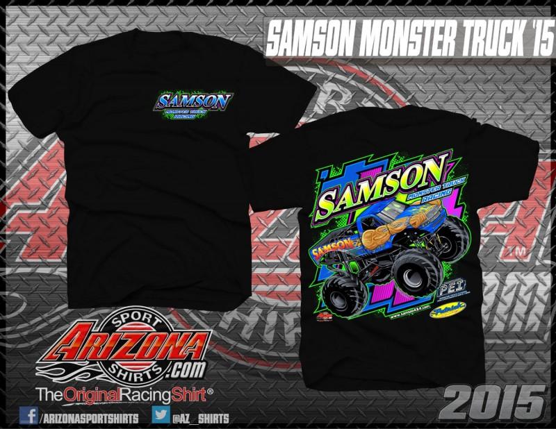 Kids Monster Truck Shirts